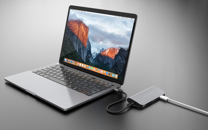 Cổng Chuyển HyperDrive Power 9 in1 USB-C for Macbook, Ultrabook