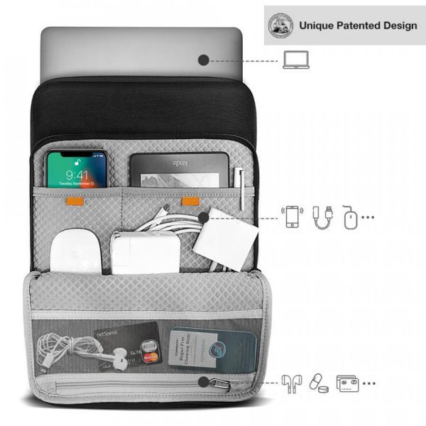 Túi Chống Sốc Tomtoc 360° Protection Premium (H13)
