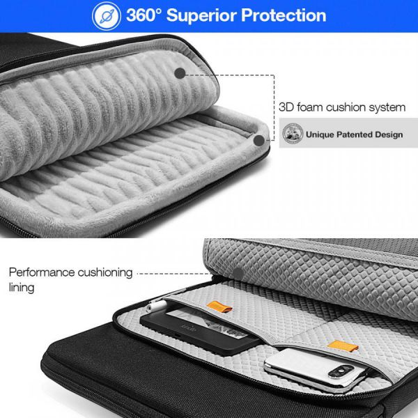 Túi Chống Sốc Tomtoc 360° Protection Premium (H13)
