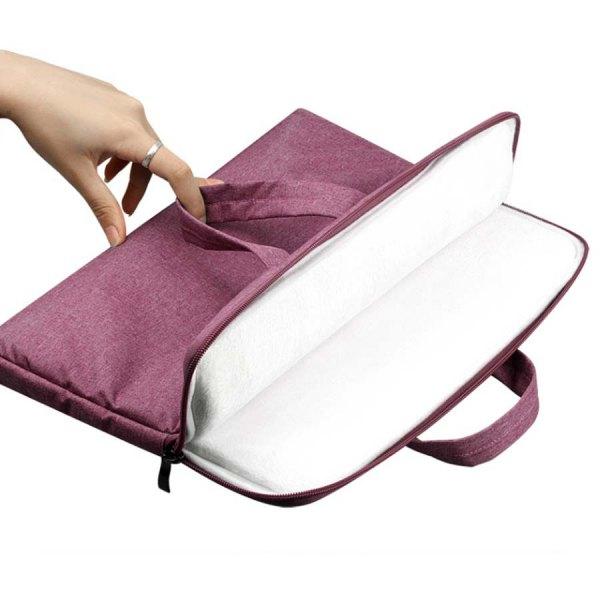 túi chống sốc laptop/macbook 2in1
