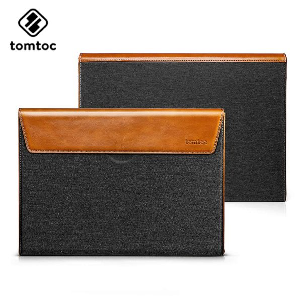 Túi Chống Sốc Tomtoc Premium Leather (H15)