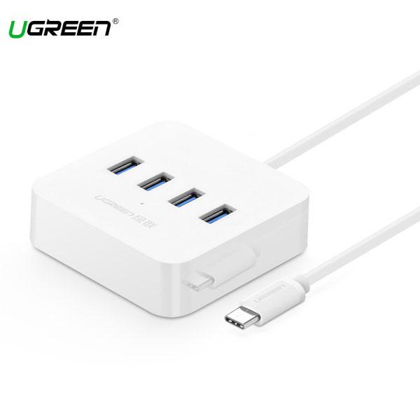 Cáp Chuyển USB-C Sang Hub USB 3.0 Hỗ Trợ Nguồn DC-5V Ugreen (30316)