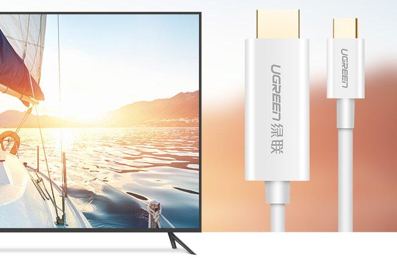 Cáp Có Chipset USB-C Sang HDMI Dài 2M (30841)