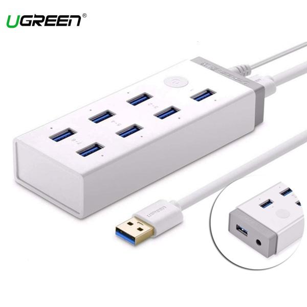 Bộ Chia 7 cổng USB 3.0 Nguồn 12V/5A Ugreen 20296