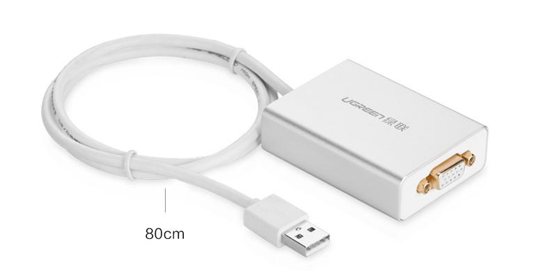 Cáp USB 2.0 Sang VGA Ugreen ( 40244)