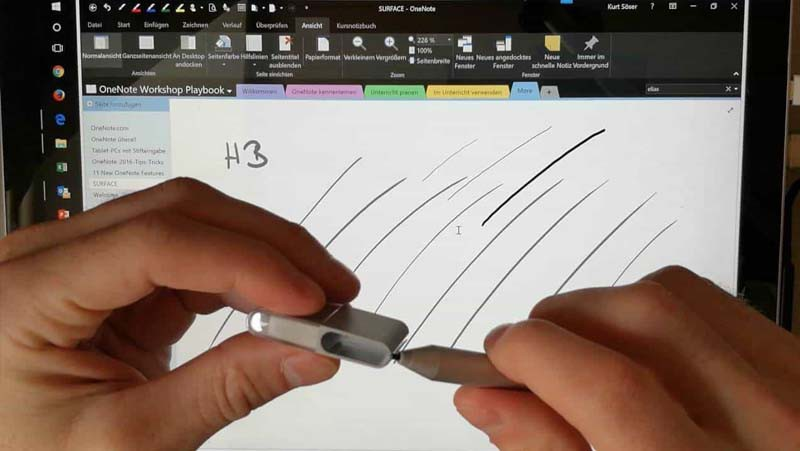 đầu bút surface pen tip kit
