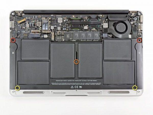 pin macbook